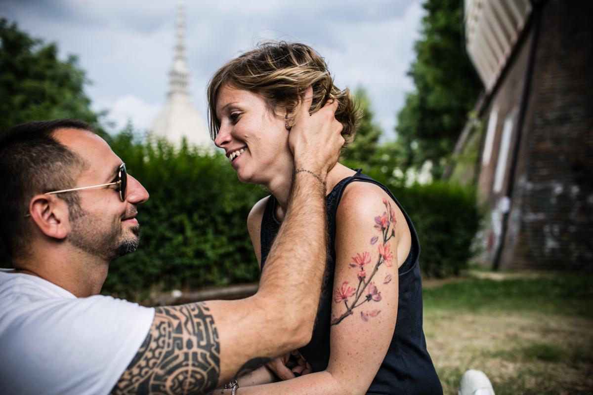 Servizio fotografico di coppia Torino ritratto