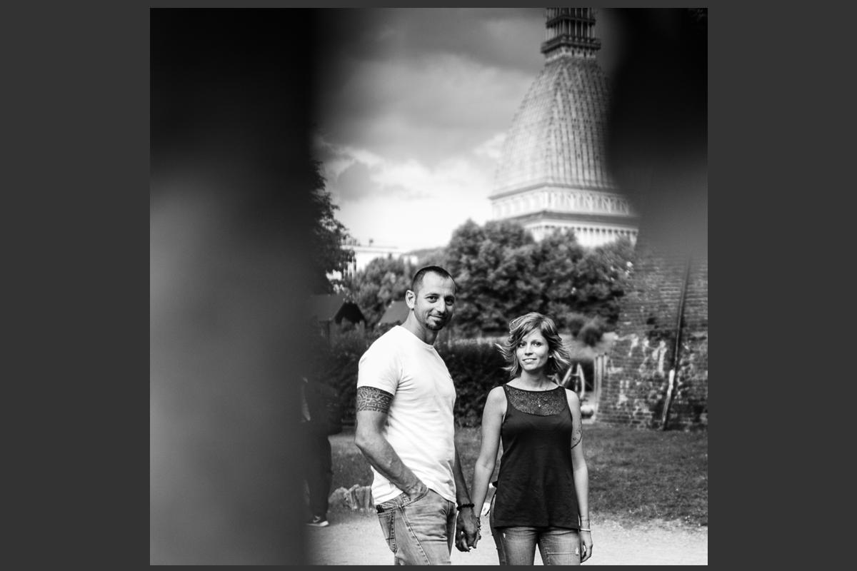 Servizio fotografico di coppia TorinoServizio fotografico di coppia Torino mole antonelliana