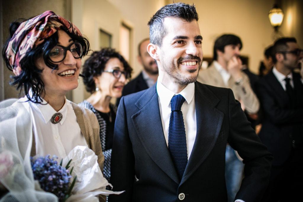 GLI SPOSI IN COMUNE TORINO FOTO MATRIMONIO
