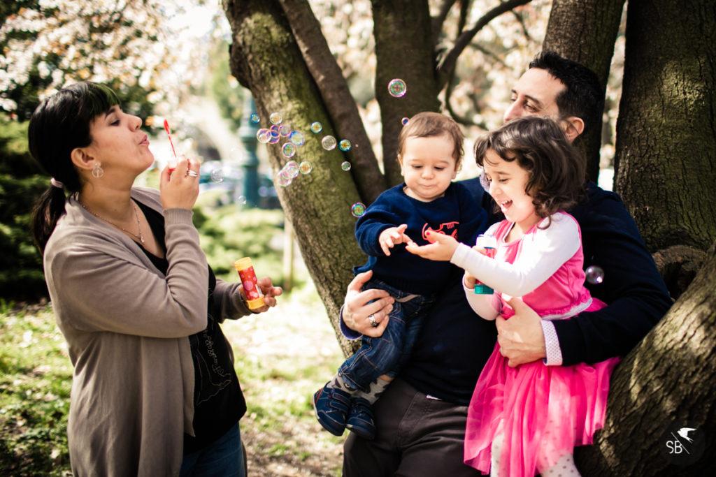 Fotografie di famiglia a Torino