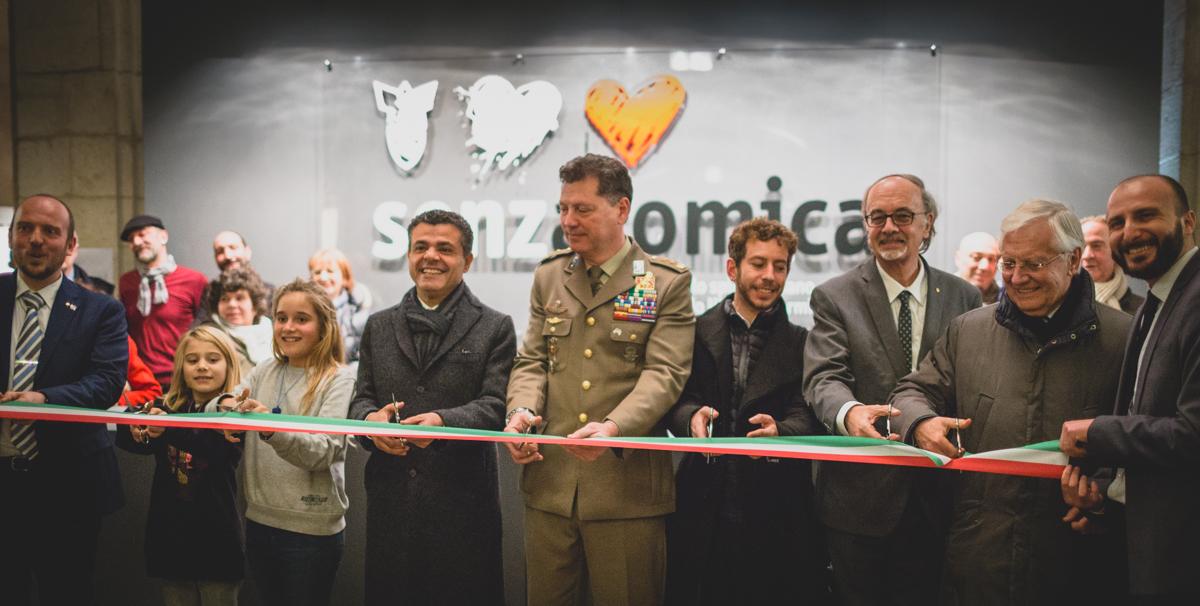 Inaugurazione della Mostra Senzatomica