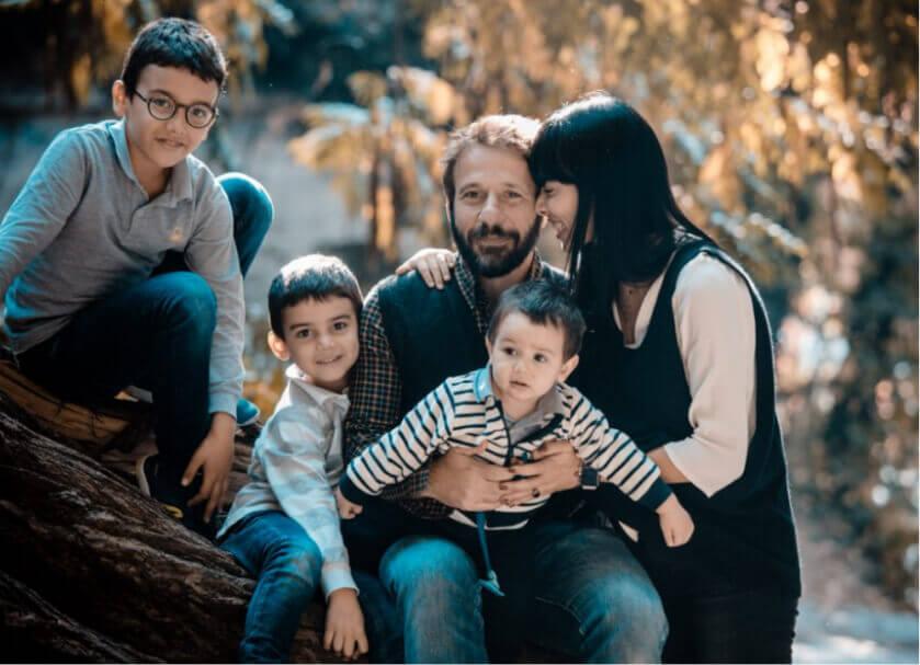 ritratti fotografici famiglia bambini coppia